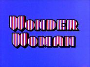 Wonder Woman 1974 Movie Title Card