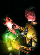 Green Lantern Corps Vol 2 36 Textless Variant