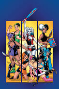 Harley Quinn and Her Gang of Harleys Vol 1 1 Textless