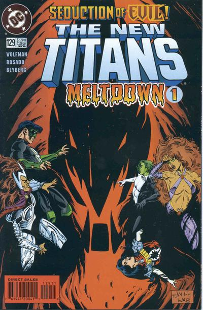New Titans Vol 1 129
