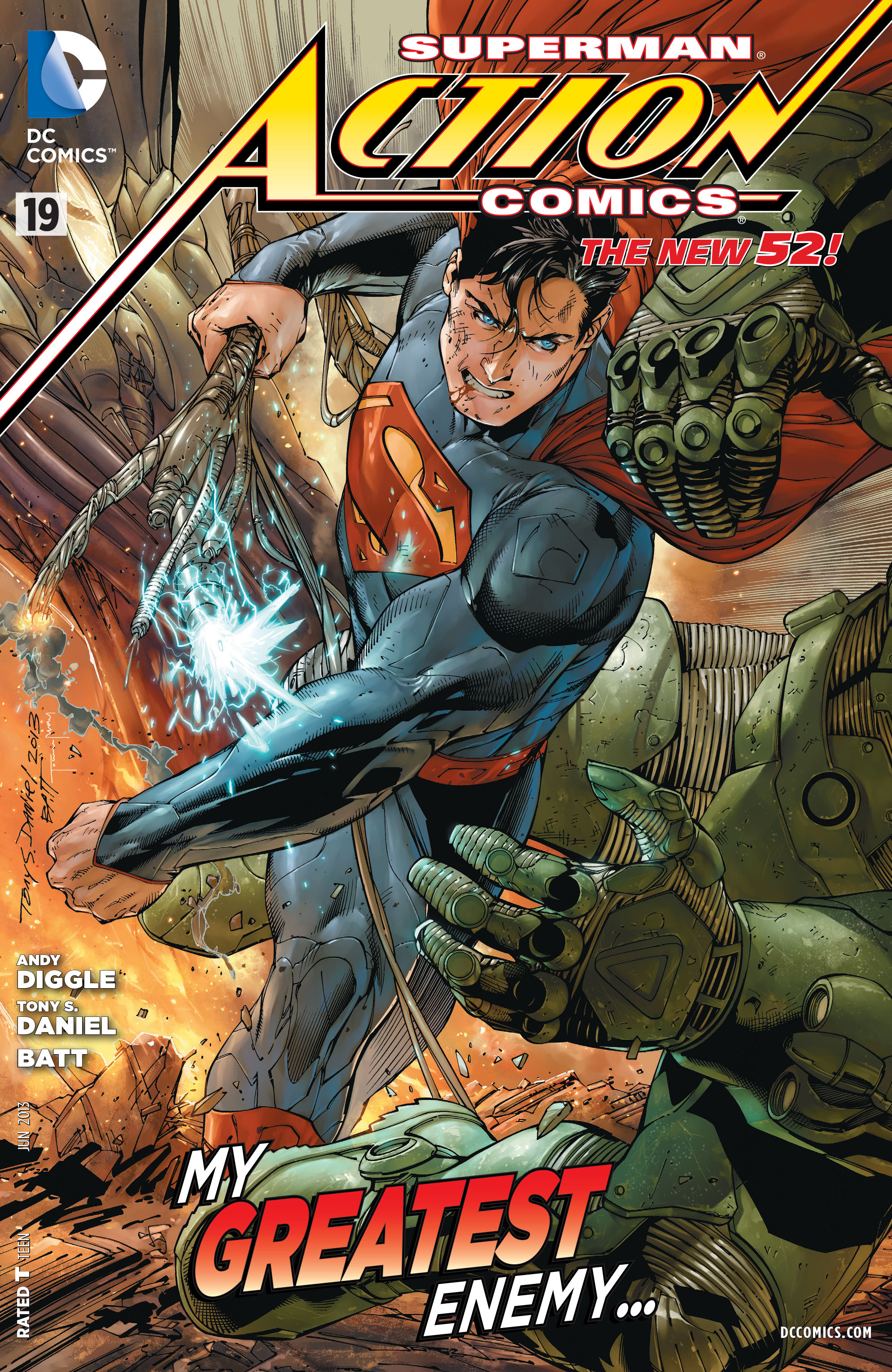 Action Comics Vol 2 19