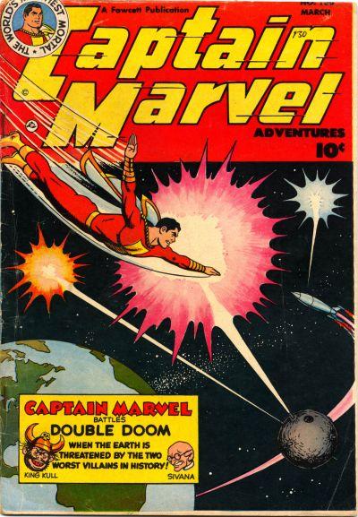 Captain Marvel Adventures Vol 1 130