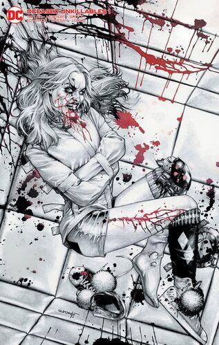 Unknown Comics Exclusive Anacleto Black & White Variant