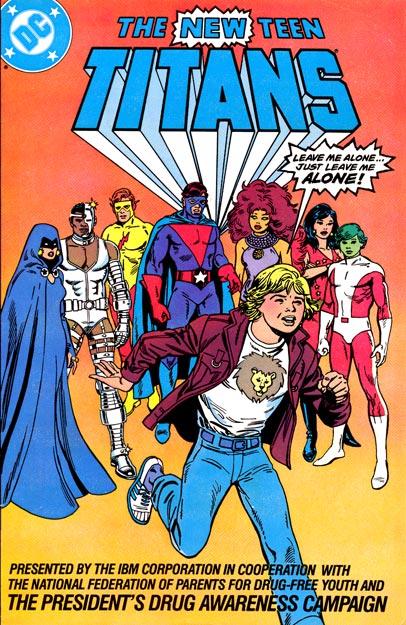 New Teen Titans Drug Awareness Special (IBM)