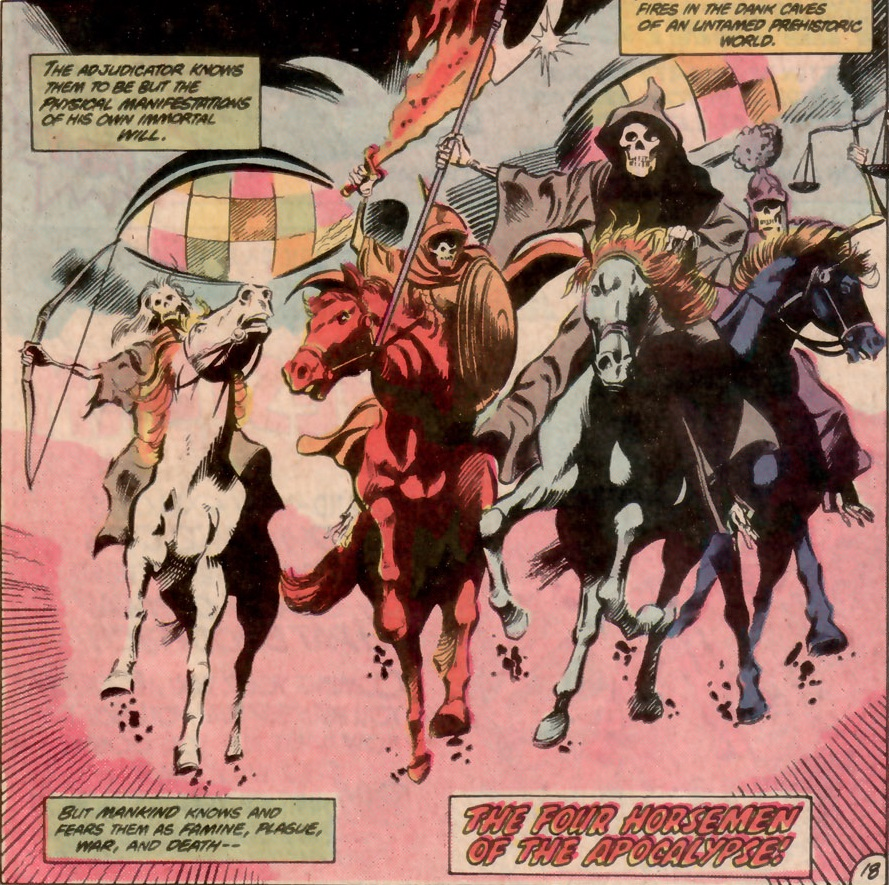 Four Horsemen of the Apocalypse (Earth-One)