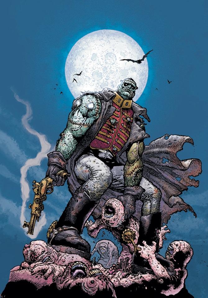 Seven Soldiers: Frankenstein Vol 1 1