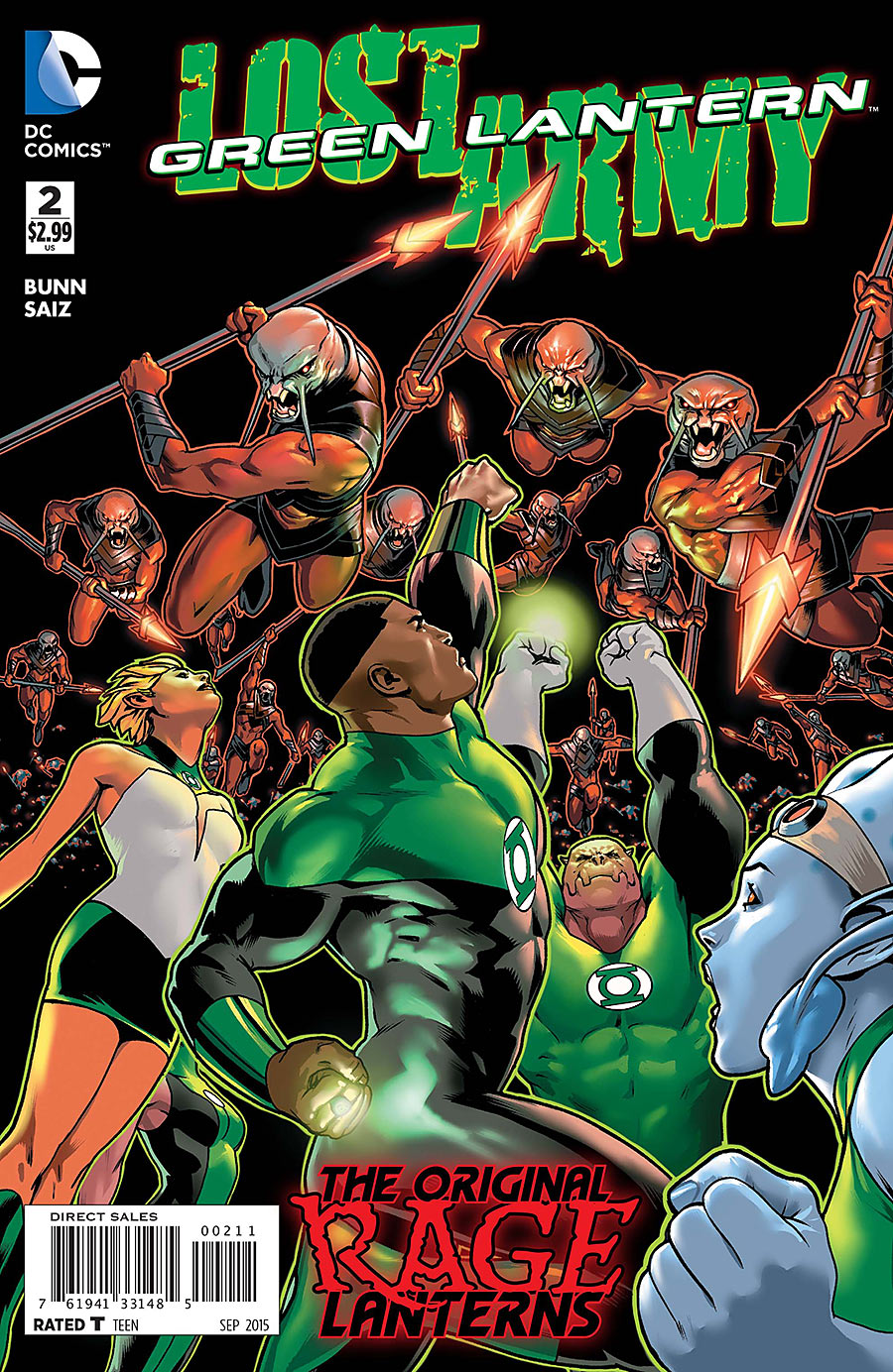 Green Lantern: The Lost Army Vol 1 2