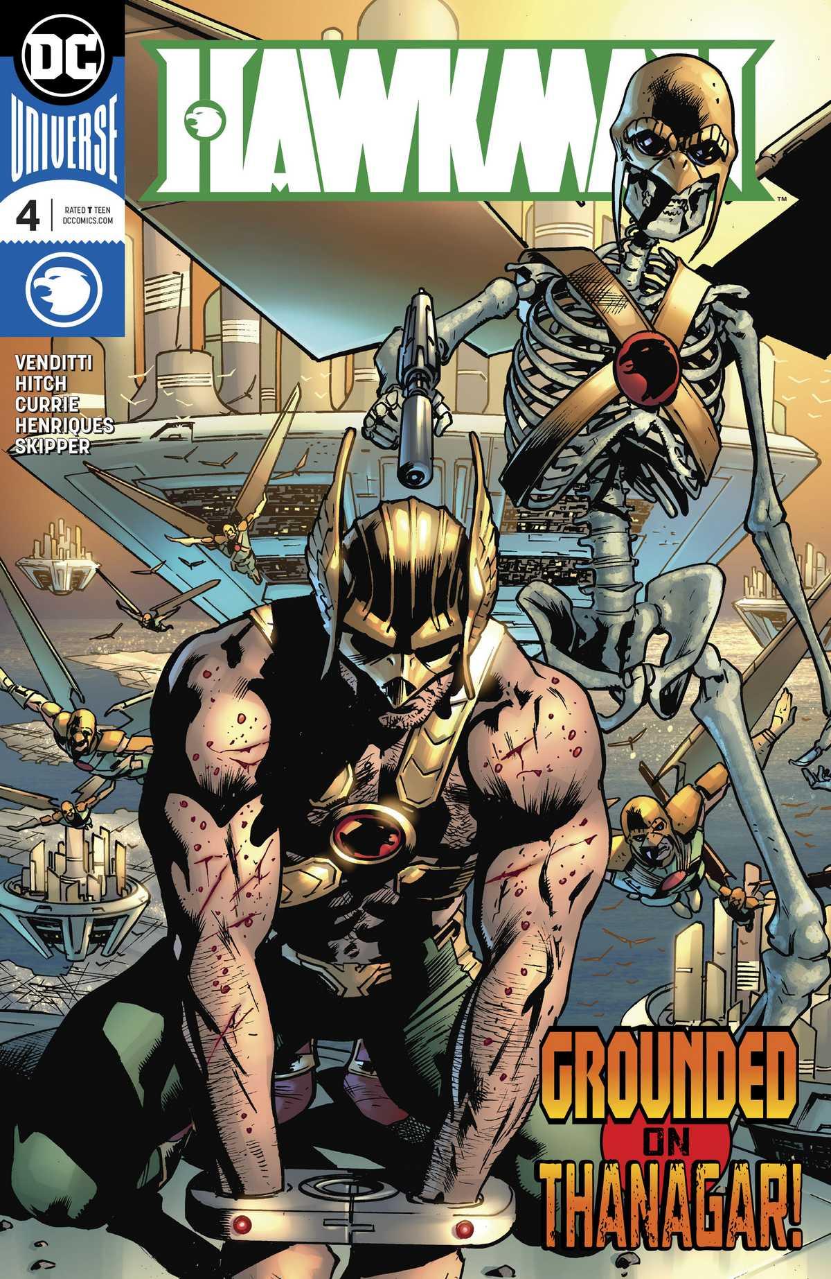 Hawkman Vol 5 4