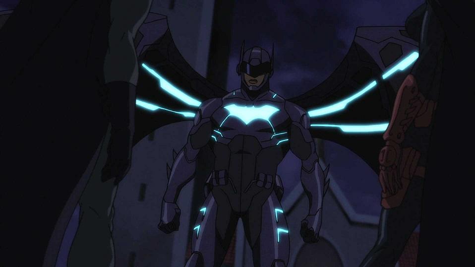 Lucas Fox (DC Animated Movie Universe)