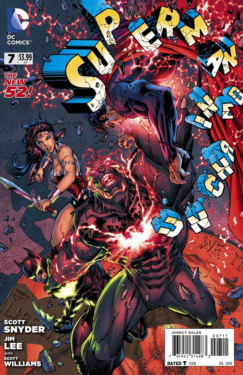 Superman Unchained Vol 1 7
