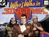 Who's Who in Star Trek Vol 1