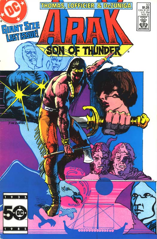 Arak: Son of Thunder Vol 1 50