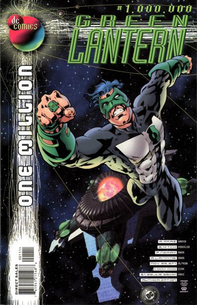 Green Lantern Vol 3 1000000