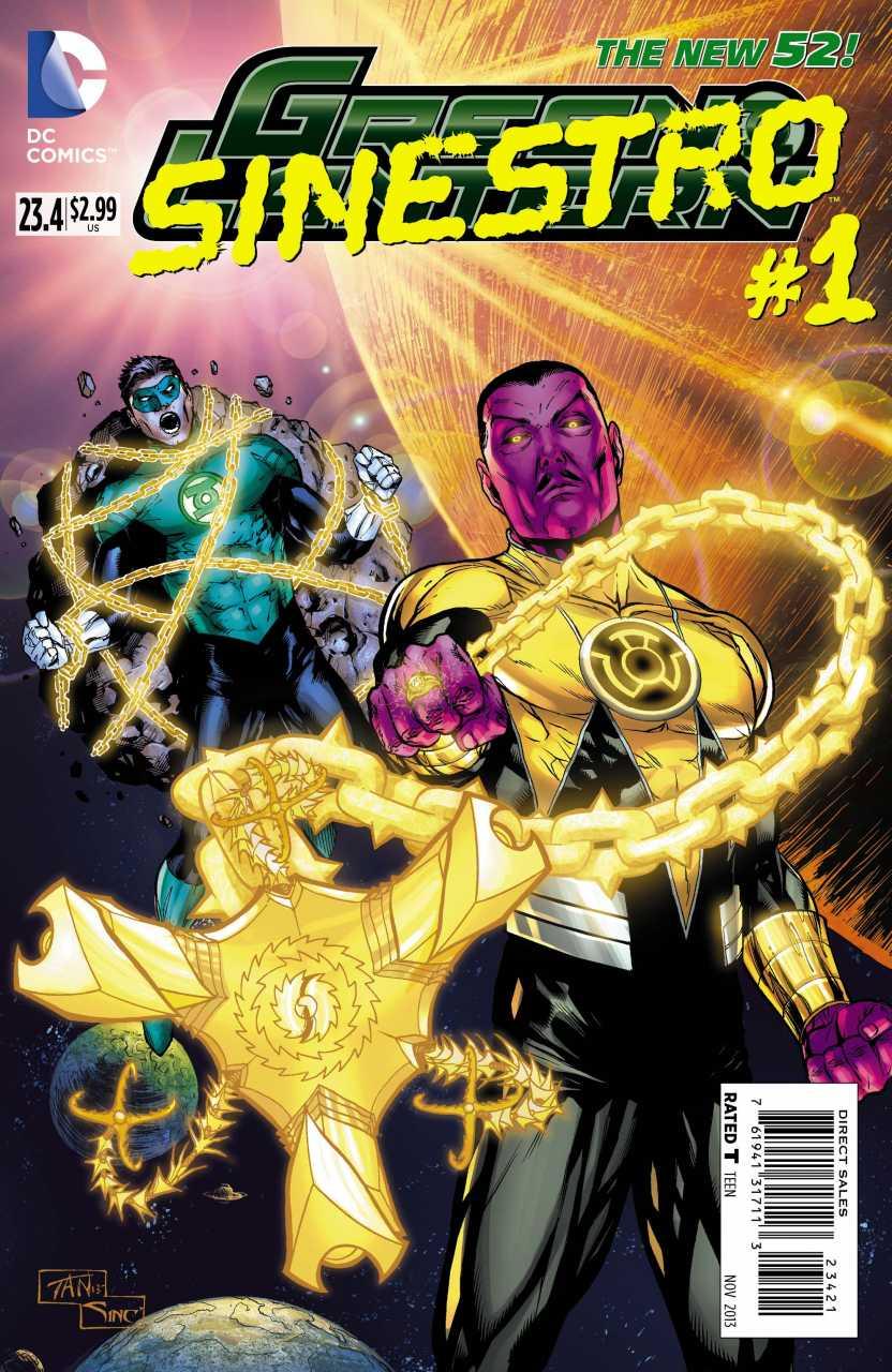 Green Lantern Vol 5 23.4: Sinestro