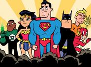 Justice League Teen Titans Go TV Series 001