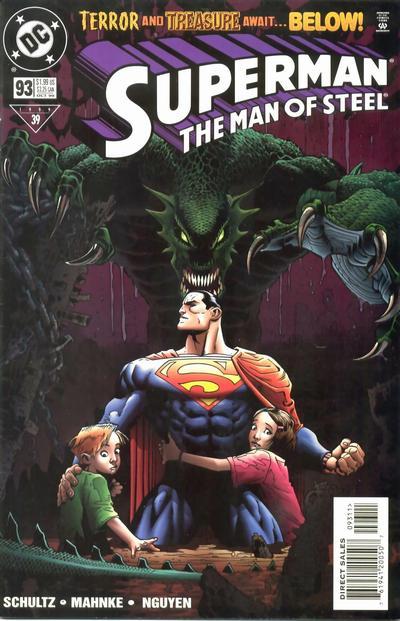 Superman: The Man of Steel Vol 1 93