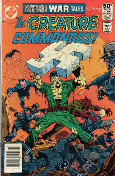 Weird War Tales Vol 1 105