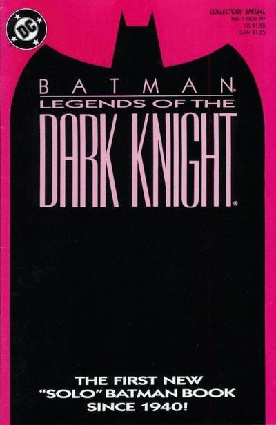 Batman: Legends of the Dark Knight Vol 1 1
