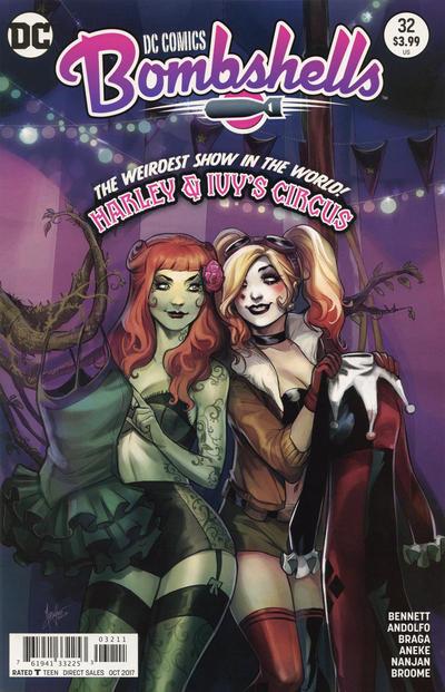 DC Comics Bombshells Vol 1 32