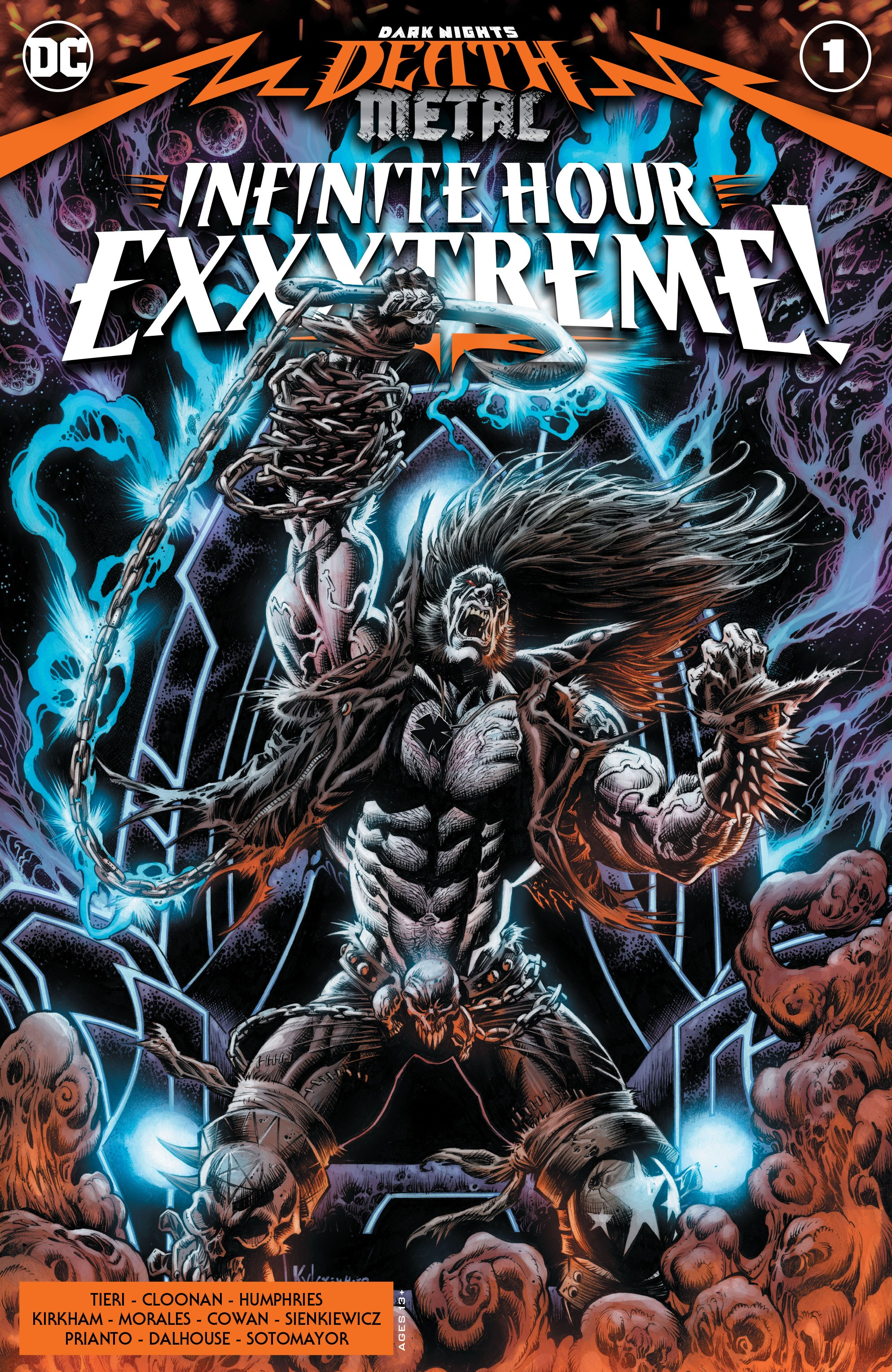 Dark Nights: Death Metal Infinite Hour Exxxtreme! Vol 1 1