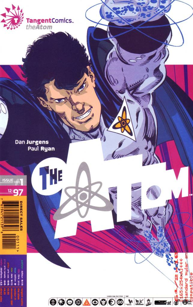 Tangent Comics: Atom Vol 1 1
