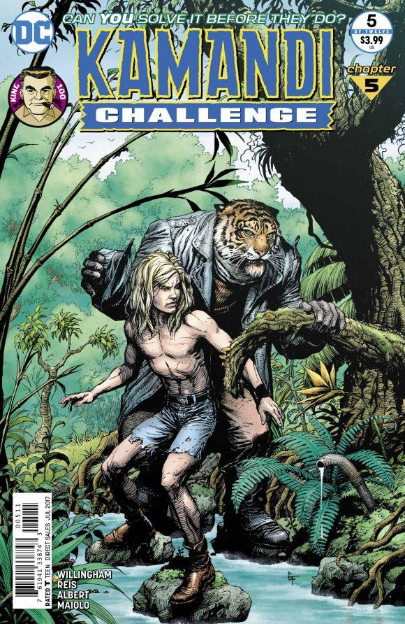 The Kamandi Challenge Vol 1 5