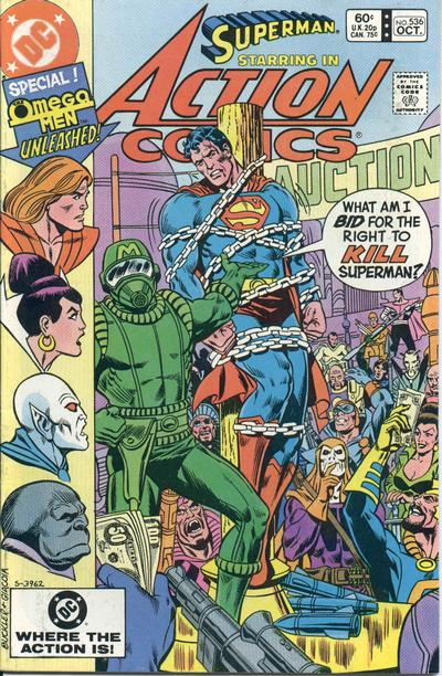 Action Comics Vol 1 536