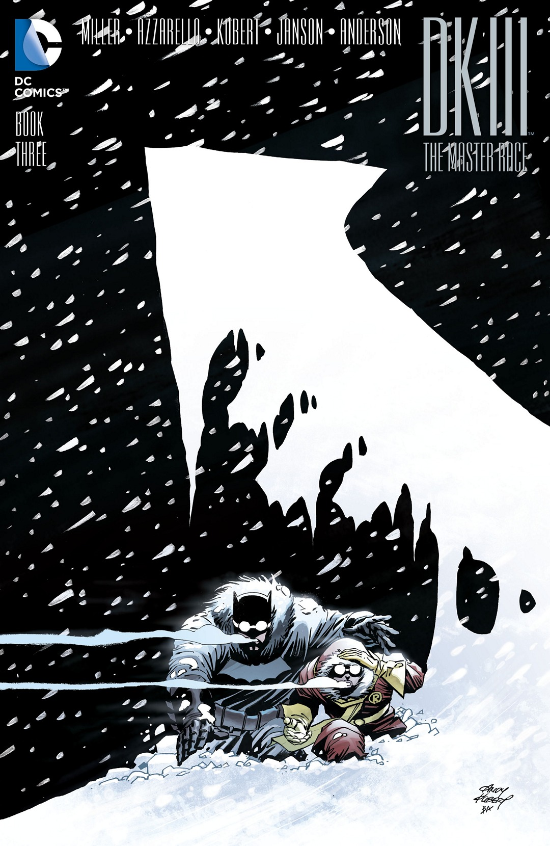 Dark Knight III: The Master Race Vol 1 3