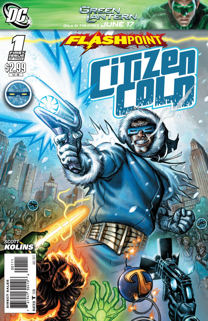 Flashpoint: Citizen Cold Vol 1