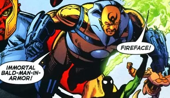 Immortal Bald-Man-in-Armor (New Earth)