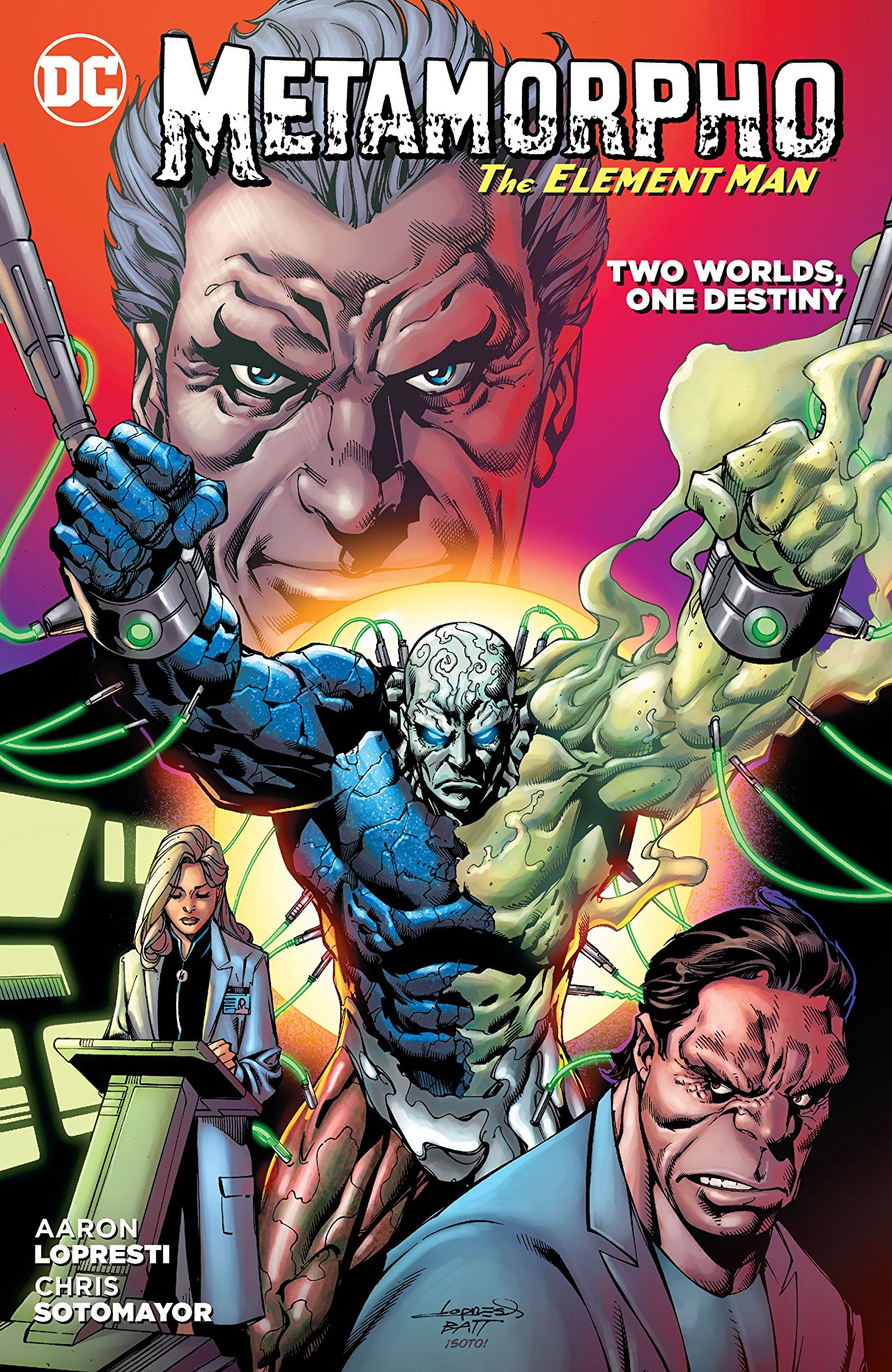 Metamorpho: Two Worlds, One Destiny (Collected)