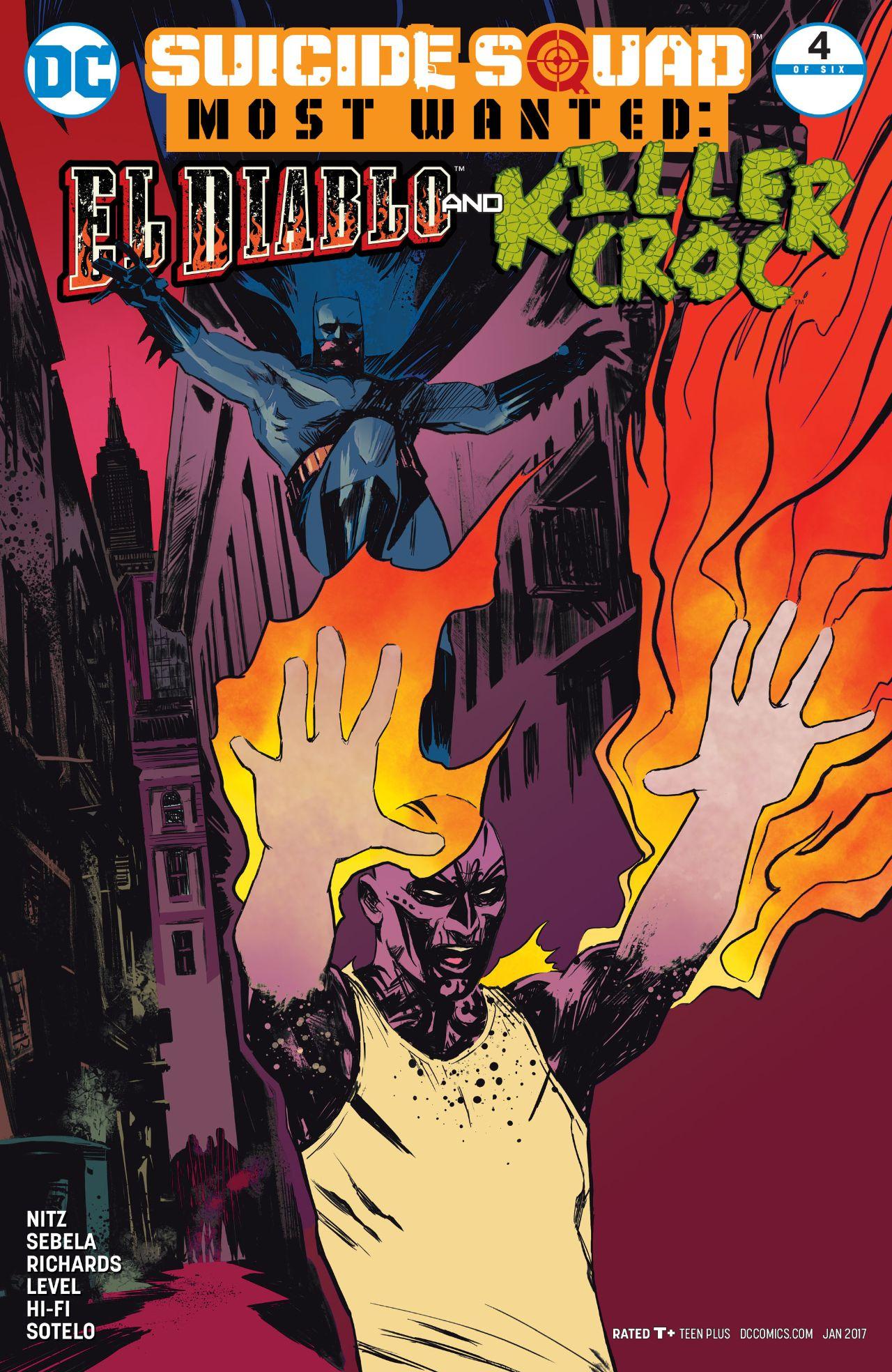 Suicide Squad Most Wanted: El Diablo and Killer Croc Vol 1 4