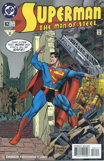 Superman: The Man of Steel Vol 1 82