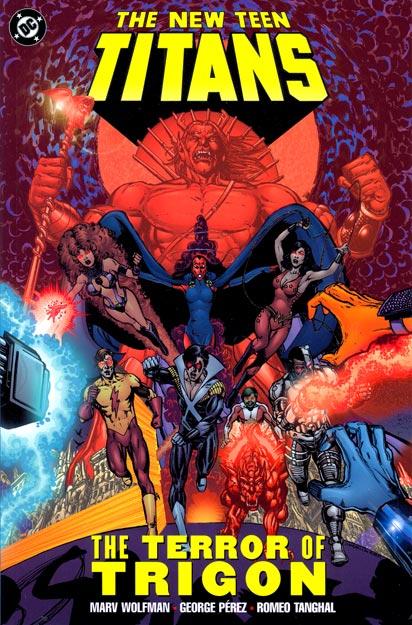 New Teen Titans: The Terror of Trigon (Collected)