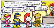 Terror Titans Tiny Titans 0001