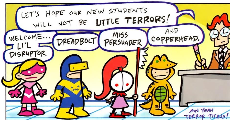 Terror Titans (Tiny Titans)