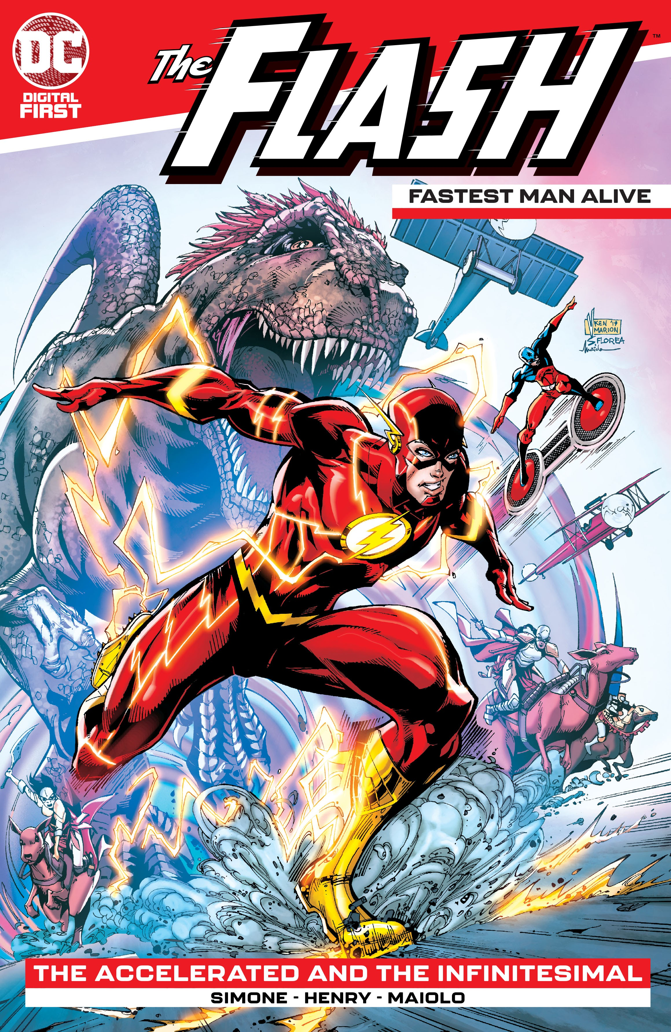 The Flash: Fastest Man Alive Vol 1 3 (Digital)