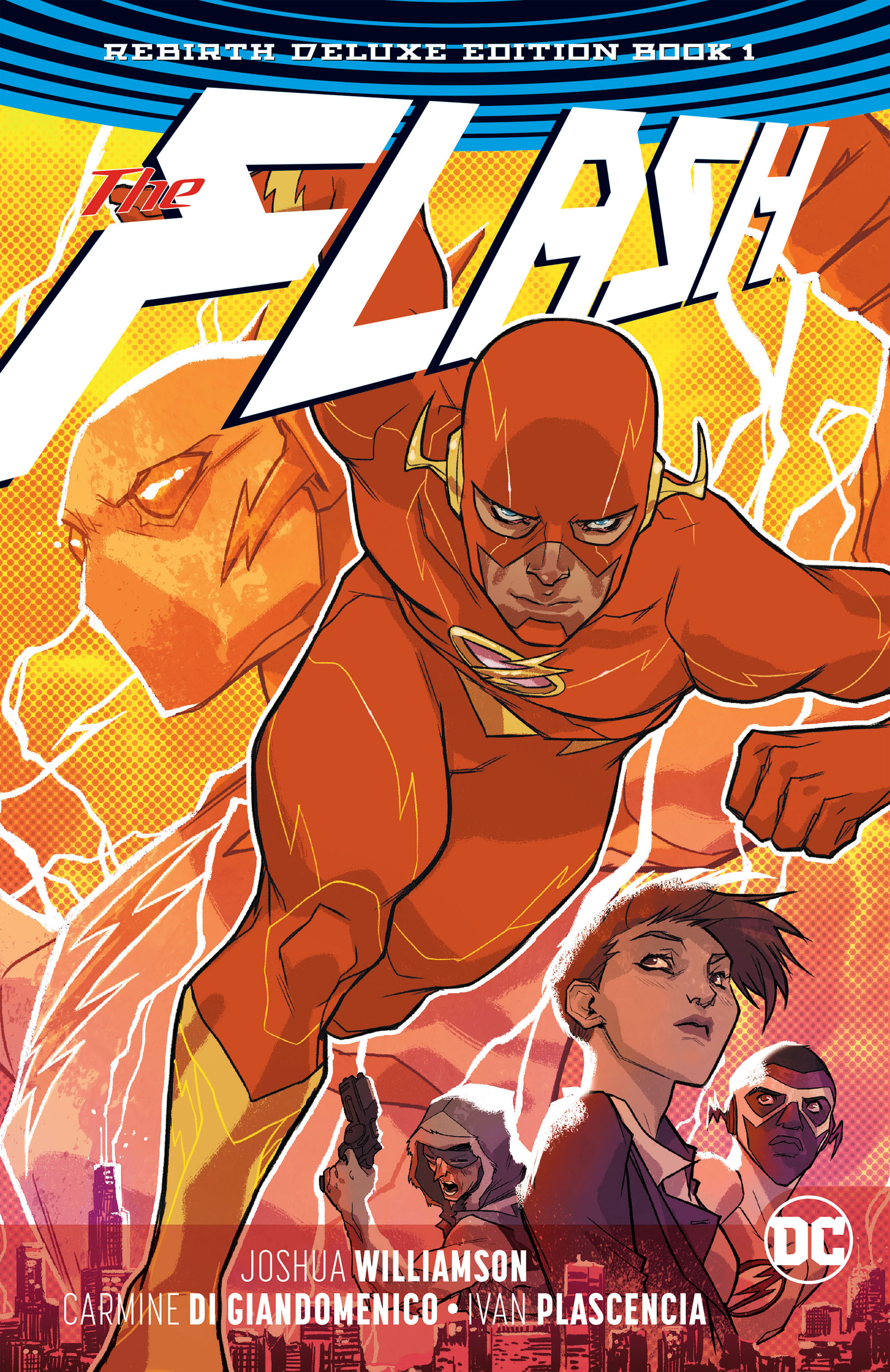 The Flash: Rebirth Deluxe Edition Book 1 (Collected)