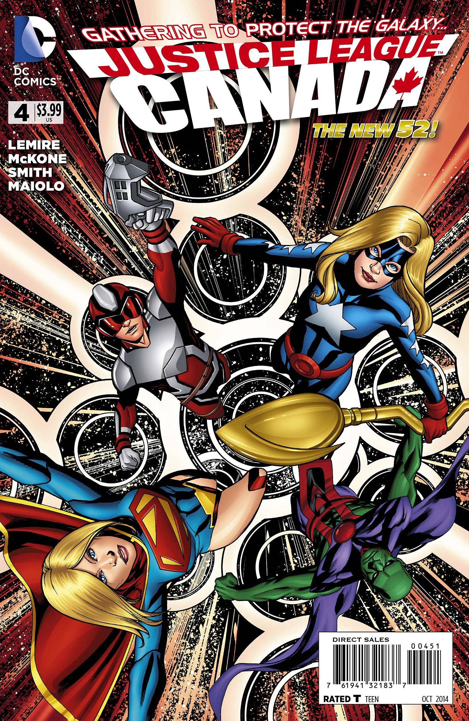 Justice League United Vol 1 4