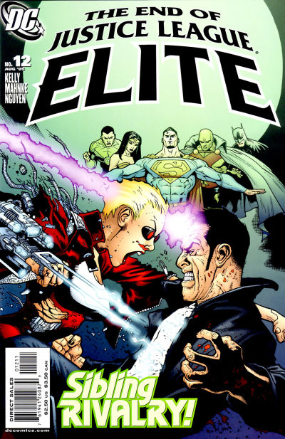 Justice League Elite Vol 1 12