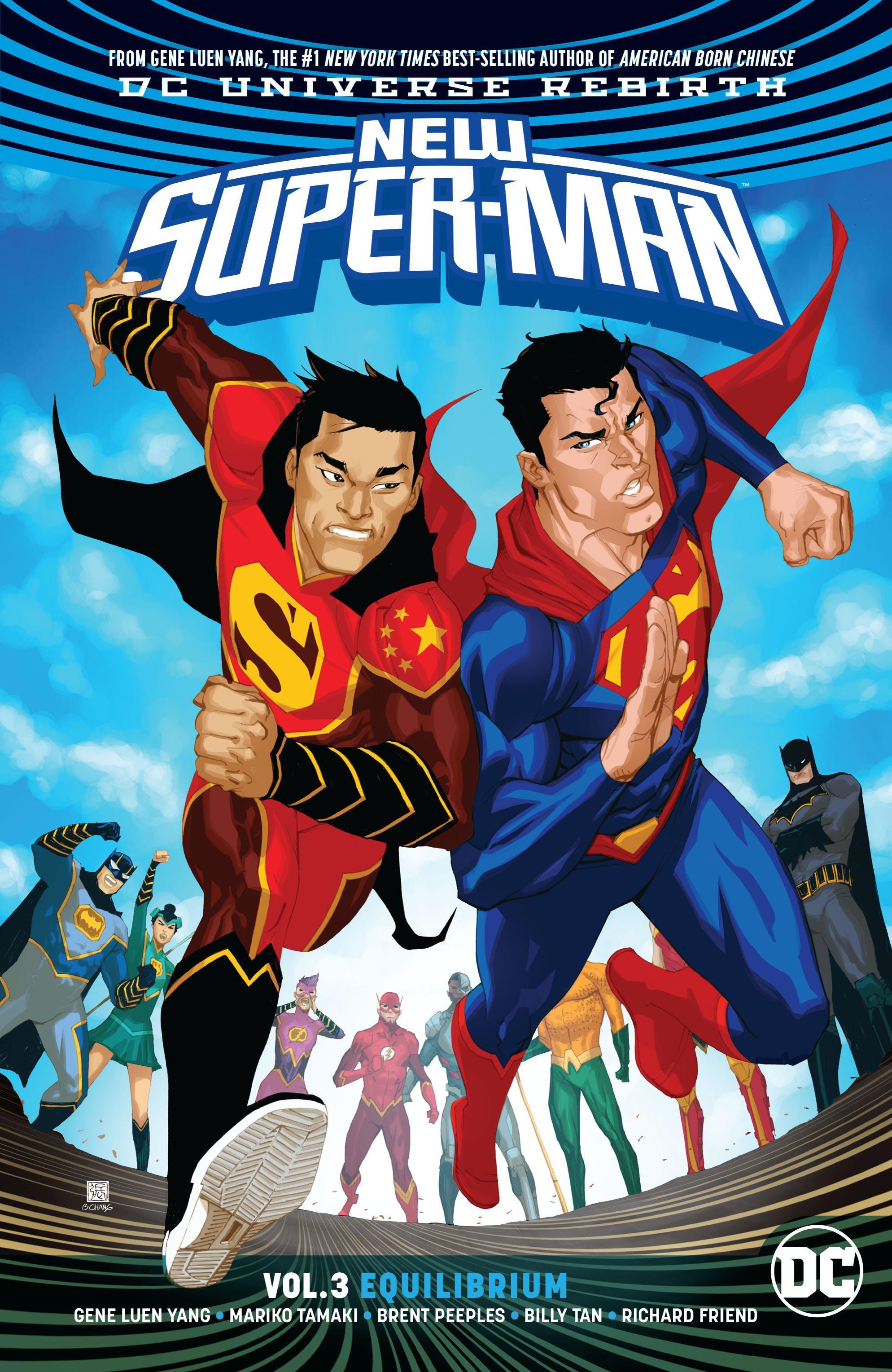 New Super-Man: Equilibrium (Collected)