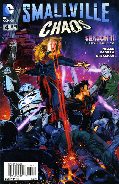 Smallville Season 11: Chaos Vol 1 4
