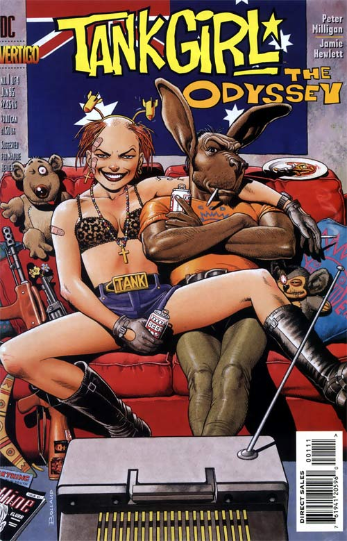 Tank Girl: The Odyssey Vol 1 1
