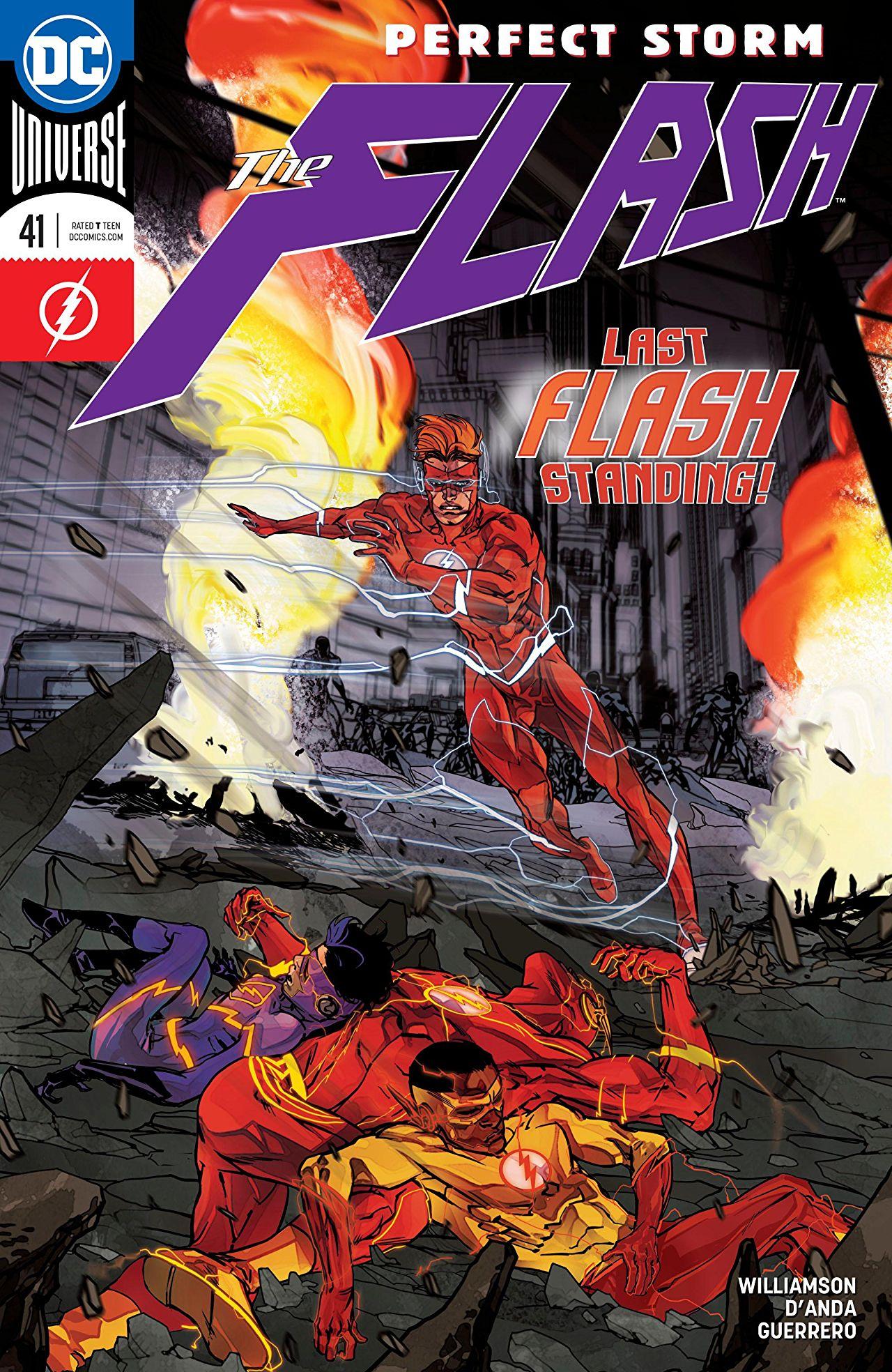 Flash 41 joker variant