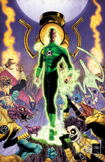 Sinestro stands against the Sinestro Corps