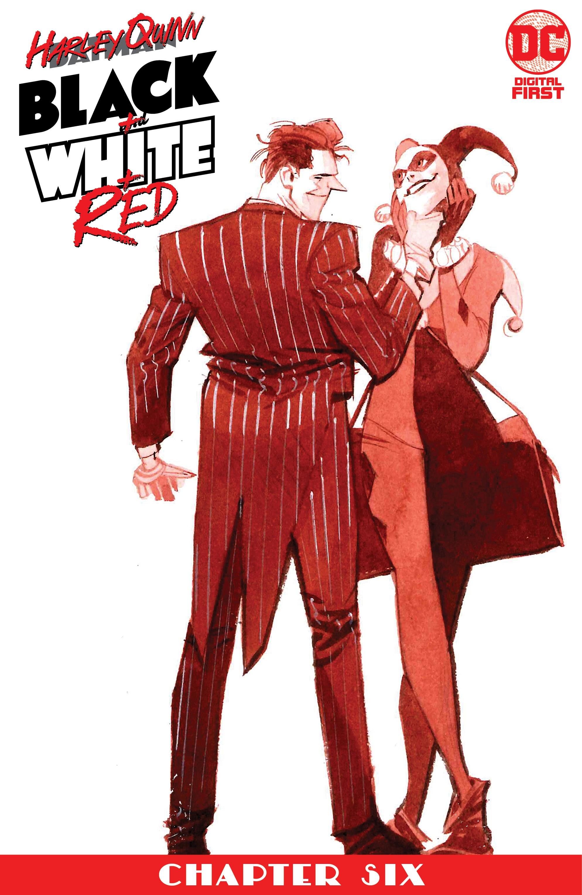 Harley Quinn: Black + White + Red Vol 1 6 (Digital)