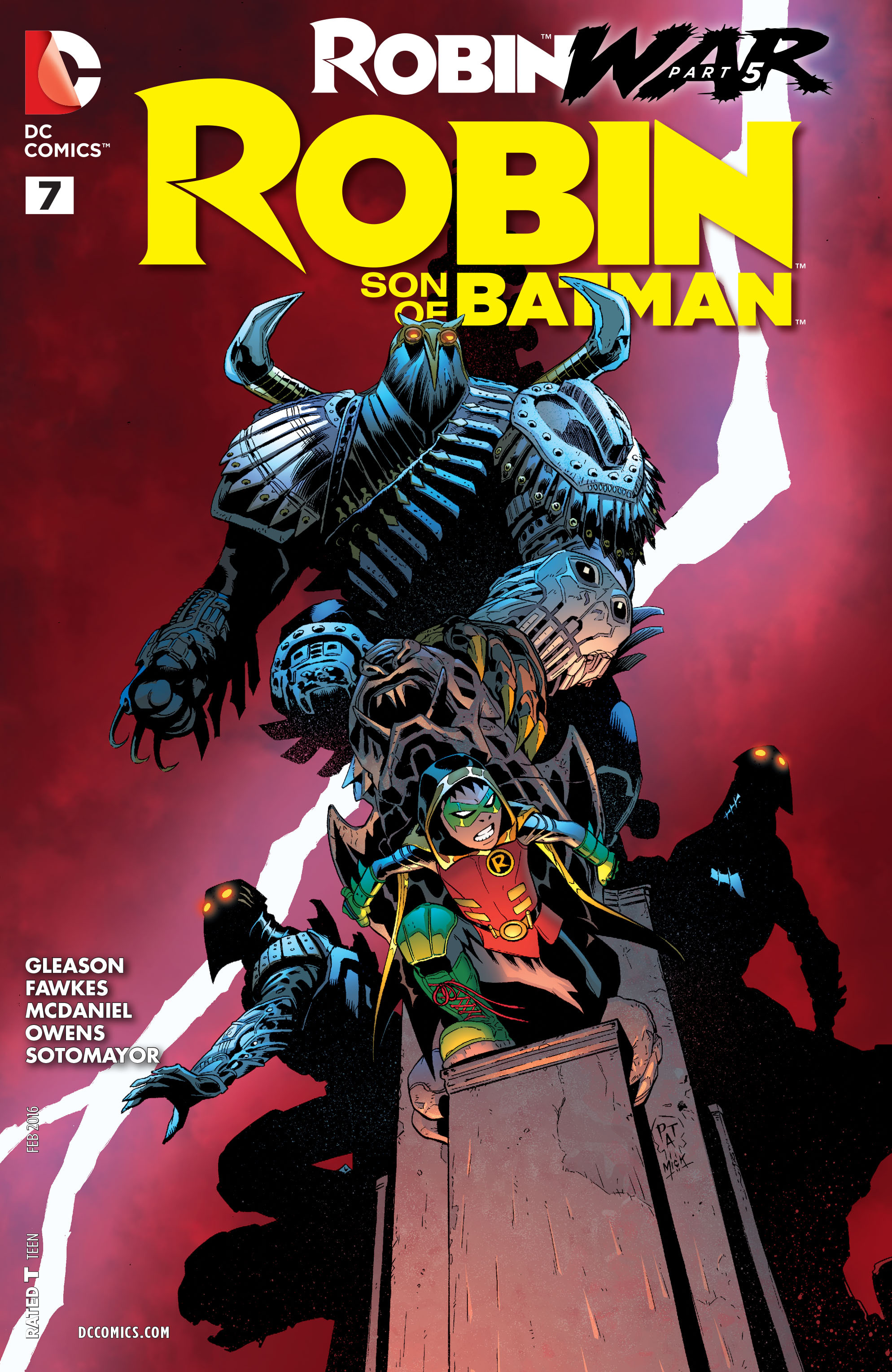 Robin: Son of Batman Vol 1 7