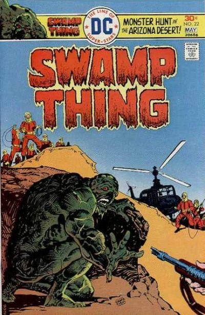 Swamp Thing Vol 1 22
