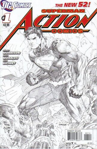 Jim Lee Sketch Variant