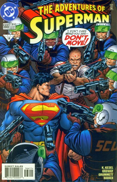 Adventures of Superman Vol 1 566